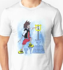The Keyblade In The Stone T-Shirt