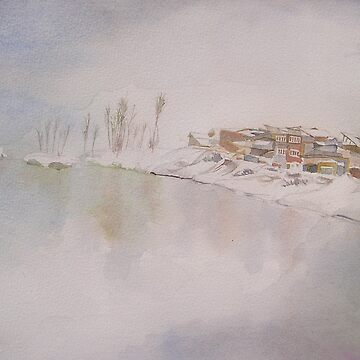 Winter in Kashmir by FrankYS