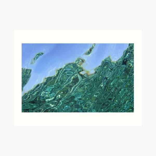 Reeflections III Art Print