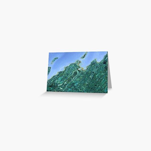 Reeflections III Greeting Card