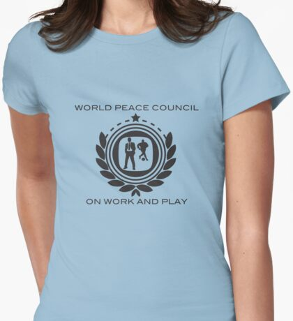 World Peace Council on Work and Play T-Shirt
