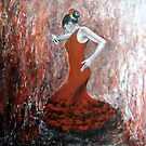 Flamenco  by olivia-art