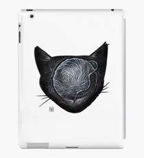 Yarn-Brained Kitty iPad Case/Skin