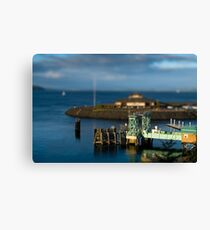 Tiny Point Defiance Ferry Terminal Canvas Print