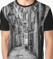 BBW. Barcelona Black & White Graphic T-Shirt