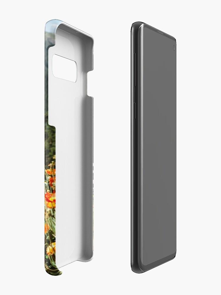 Alternate view of Mountain garden Case & Skin for Samsung Galaxy