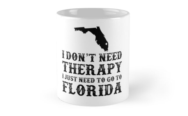 Florida I Just Need To Go To Florida by David Uy