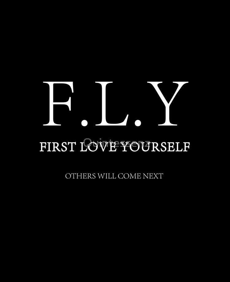 F L Y First Love Yourself Ipad Case Skin By Quintessenz Redbubble