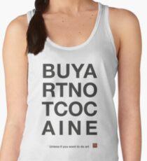 Compra arte no cocaina Camiseta de tirantes para mujer
