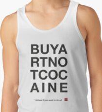 Compra arte no cocaina Camiseta de tirantes