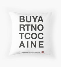 Compra arte no cocaina Cojín