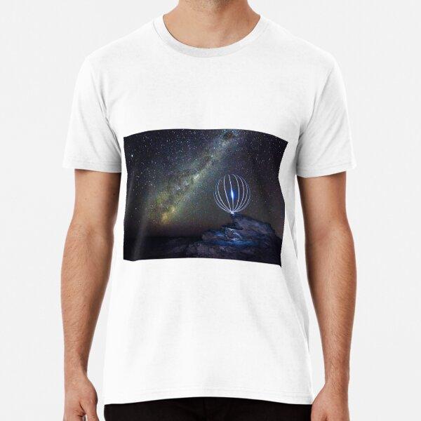 Milky Way Orb Premium T-Shirt
