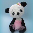 Panda bear girl by Penny Bonser