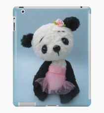 Panda bear girl iPad Case/Skin