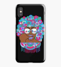 Afro in LA  iPhone Case