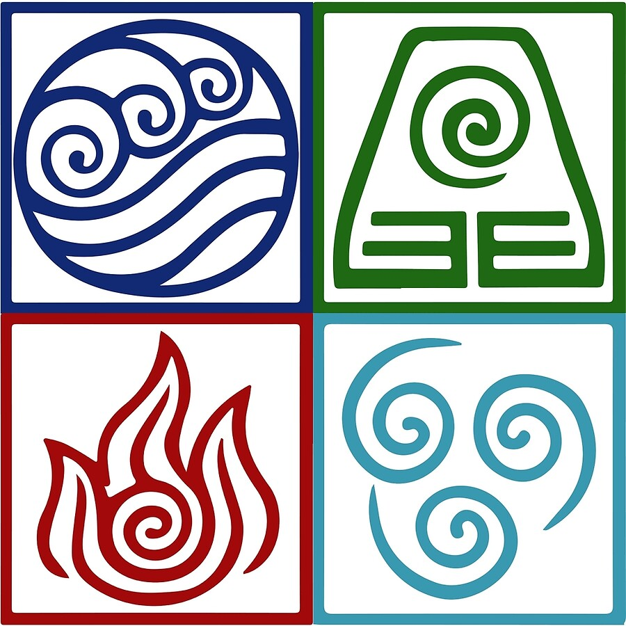Four elements symbol avatar art boards by daljo redbubble four elements symbol avatar biocorpaavc Image collections