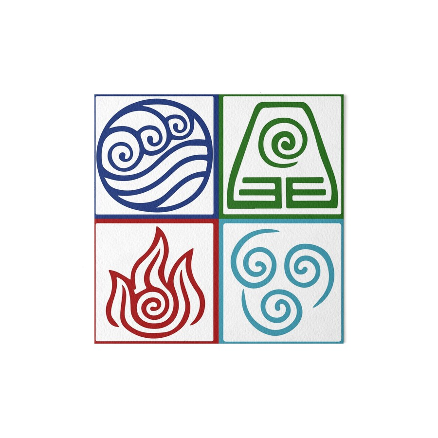 Four elements symbol avatar art boards by daljo redbubble four elements symbol avatar by daljo biocorpaavc Image collections