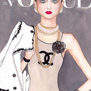 Vogue Paris March 2009 Cover by Dura