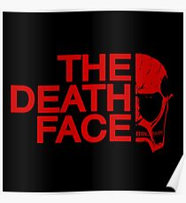 The death face red logo Poster