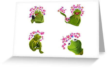 Kermit the frog greeting cards by smuggler redbubble kermit the frog by smuggler m4hsunfo