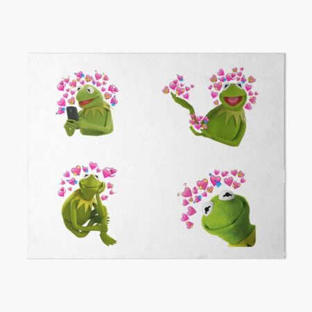 Kermit The Frog Art Board Print