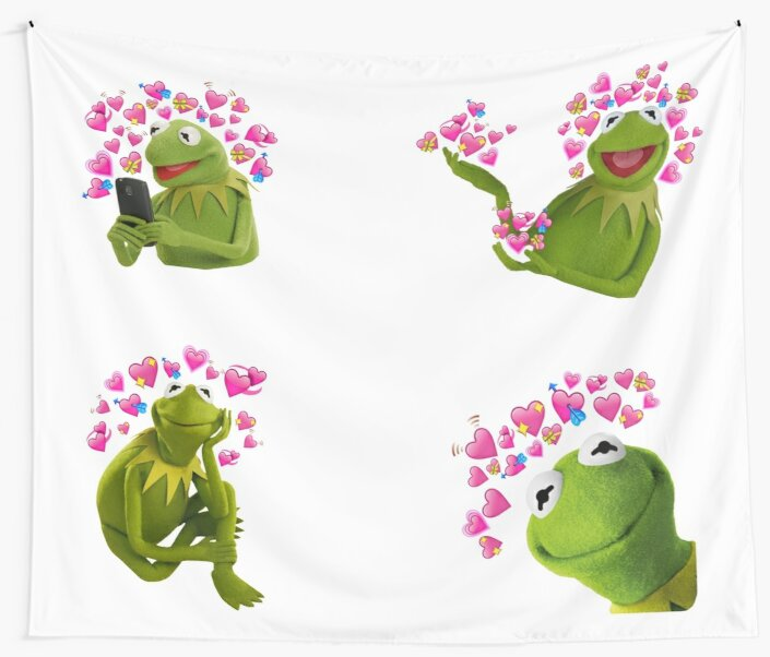 Kermit The Frog Wall Tapestry By Smuggler