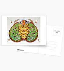 The hop moth Postcards