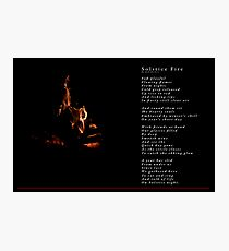 Solstice Fire Photographic Print