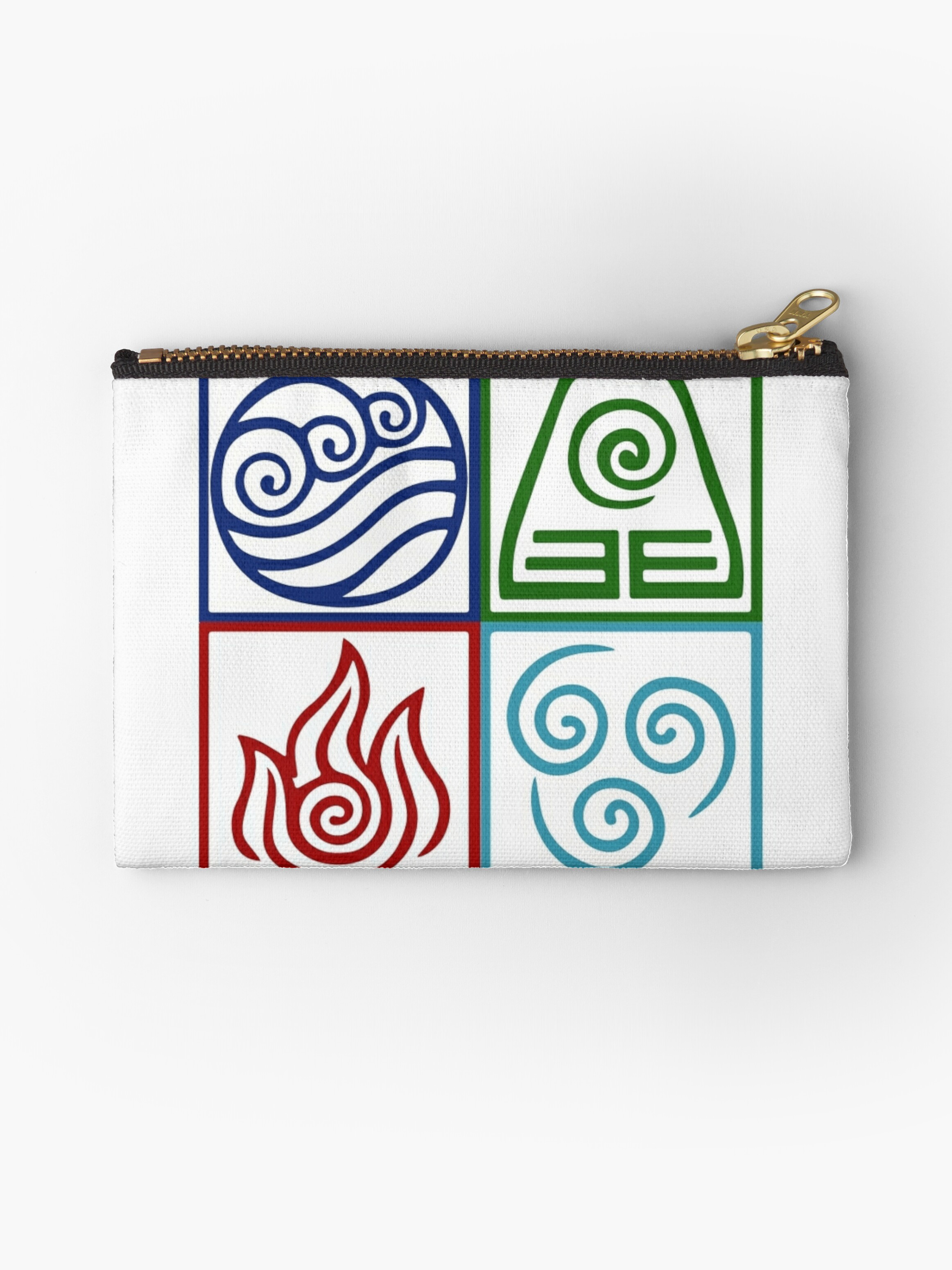Four elements symbol avatar studio pouches by daljo redbubble four elements symbol avatar by daljo biocorpaavc Image collections