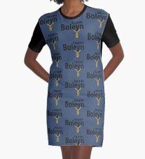Anne Boleyn 'Team Boleyn' slogan with B necklace Graphic T-Shirt Dress