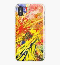 blurred iPhone Case