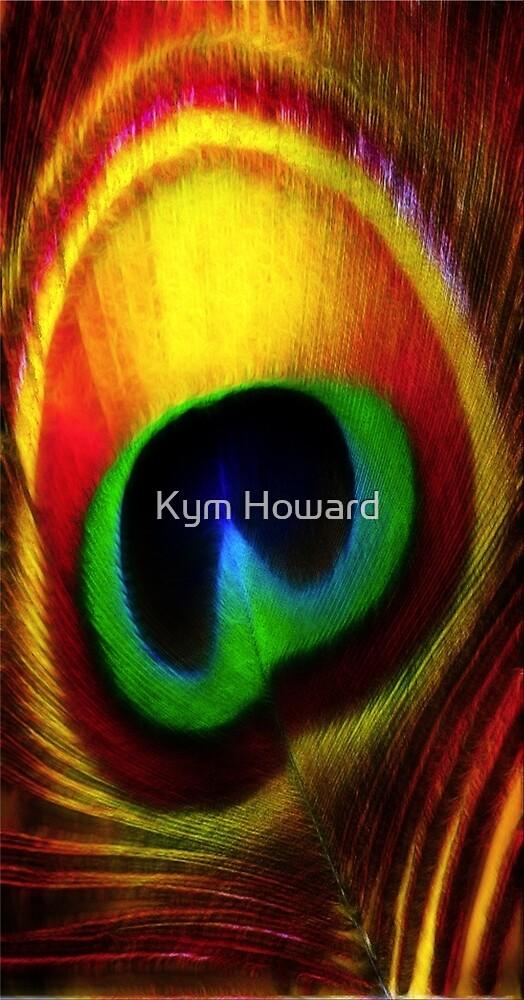 Peacock Eye Feather by Kym Howard