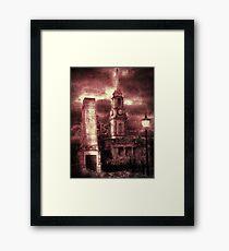 Port Glasgow Framed Print