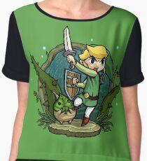 Zelda Wind Waker Forbidden Woods Temple Chiffon Top