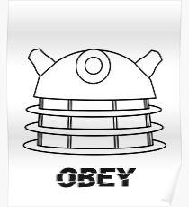 Dalek - Obey Poster