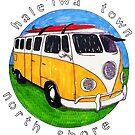 Haleiwa Town Bus by northshoresign