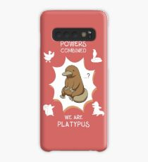With all our powers combined, we are Platypus. Case/Skin for Samsung Galaxy