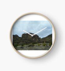 Cliff Crown - Uyuni - Bolivia, South America Clock