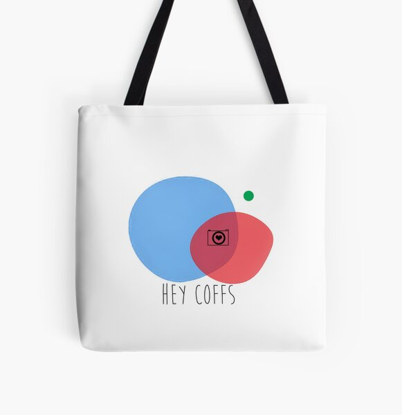 Hey Coffs All Over Print Tote Bag