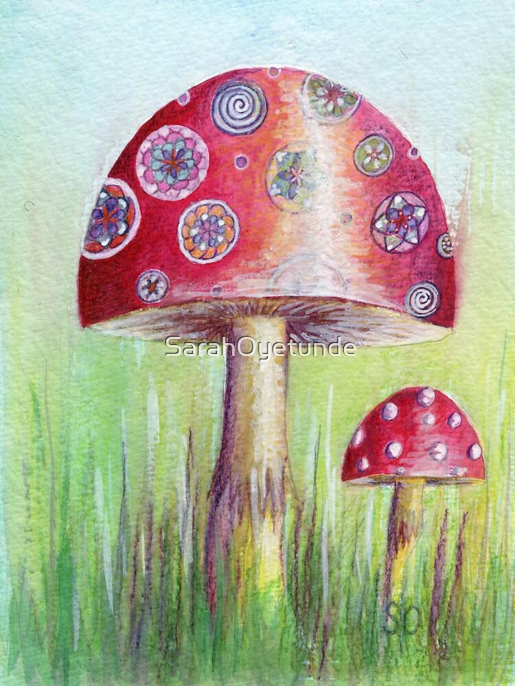 Magical Mushroom by SarahOyetunde