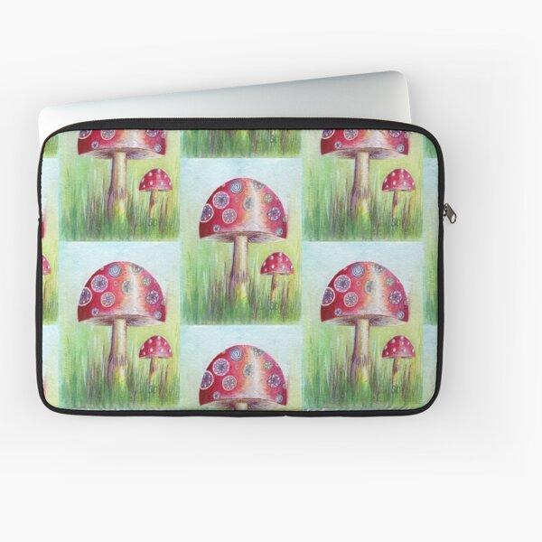 Magical Mushroom Laptop Sleeve