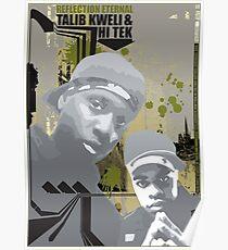 Talib kweli & Hi tek Poster