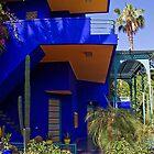 Morocco. Marrakech. The Majorelle Garden. Villa Majorelle. by vadim19