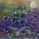Moonlight Meditation by SarahOyetunde