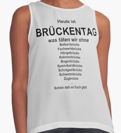 German wordgame for Brückentag Contrast Tank