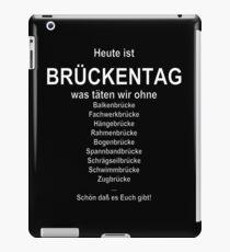 Bridge day (German wordgame für Brückentag) iPad Case/Skin