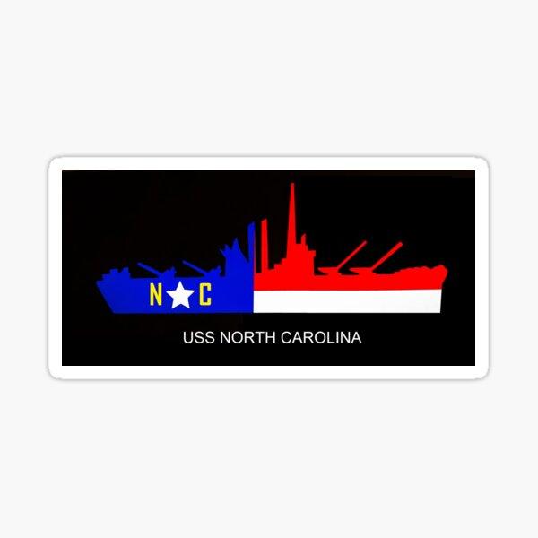 USS North Carolina Sticker