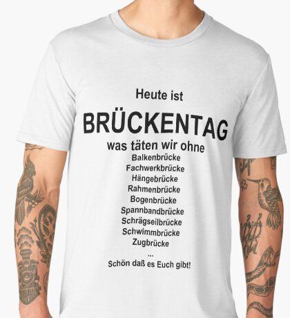 German wordgame for Brückentag Men's Premium T-Shirt