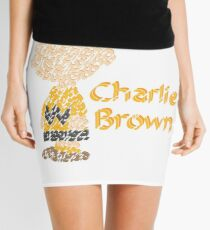 Charlie Brown  Mini Skirt