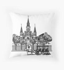 New Orleans, Louisiana Throw Pillow
